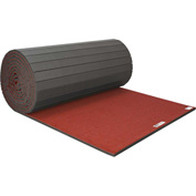 "EZ Flex Sport Mats Cheerleading/Gymnastics Roll Mats 42' x 6' x 1-3/8"" Red - 201R-RD"