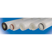 High Purity Polysulfone Cartridge Filter 0.1 Micron - 2-3/4 Dia x 10H EPDM Seals, 222 w/Fin Ends - Pkg Qty 6