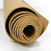 "Ghent® Natural Cork Roll, 96""W x 48""H x 1/4""D"