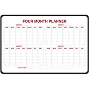 "Ghent® 4-Month Dry Erase Planner, Non-Magnetic, 24"" x 36"""