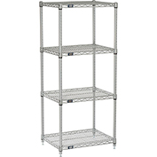 "Nexelate Wire Shelving, 24""W X 18""D X 54""H"
