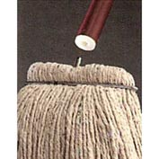 "Featherweight™ 54"" Vinyl Covered Aluminum Mop Handle For Screw-In Mopheads"