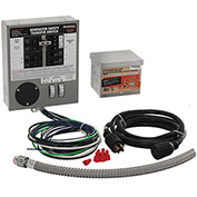 Generac 30-Amp Indoor Transfer Switch Kit for 6-10 Circuits