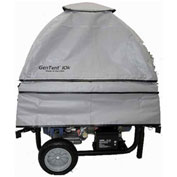 GenTent GT10KC4UGB,10k Stormbracer Safety Canopy for Portable Generators,Sq. Frame,Grey,Made in USA