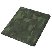 30' x 30' Light Duty 3.3 oz. Tarp, Camouflage/Green - CAMO30x30