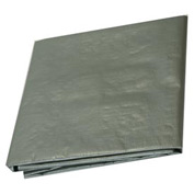 12' x 25' Medium Duty 6 oz. Tarp, Silver - S12x25