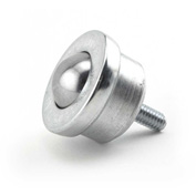 "Hudson Bearings 1"" Stainless Steel Main Ball with 5/16"" Stud in Stainless Steel Housing SMBT-1SS"