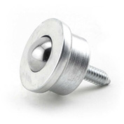 "Hudson Bearings 5/8"" Stainless Steel Main Ball with 1/4"" Stud in Stainless Steel Housing SMBT-5/8SS"