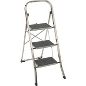 Hailo K30 3 Step Aluminum Folding Step Ladder - 4393-801