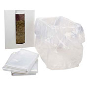 "HSM® Shredder Bags, 23"" x 18"" x 60"", 50/Box, Fits FA400 (Double Bin Set Up)"
