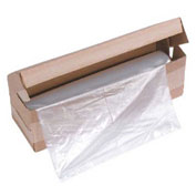 "HSM® Shredder Bags, 25"" x 23"" x 45"", 50/Box, Fits Crusher, 1049S, 450, P44"
