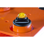 IRONguard Replacement Yellow LED Light with Magnetic Backing For PSZ-SLM Portable Safety Zone