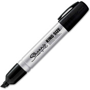 Sharpie® King Size™ Chisel Tip Permanent Marker, Black - Pkg Qty 144