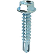 "Self-Tapping Screw - #14 x 1-1/2"" - Flange Hex Head - Pkg of 50 - ITW Teks® 21352"