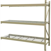 "JBX System 800 Boltless Wide-Span Shelving - 72""Wx18""Dx72""H - Galvanized Wire Decking - Add-On Unit"