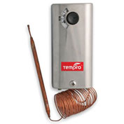 """Tempro 96"""" Remote Bulb Thermostat TP516, Heat/Cool, SPDT, Single Stage"""