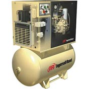 Ingersoll Rand Rotary Screw Air Compressor W/Dryer UP65TAS-150460/380, 460V, 5HP, 3PH, 80 Gal