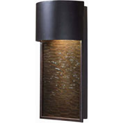 "Kenroy Lighting, Lightfall 1Lt Dark Sky Lantern, 93546ORB, Bronze Finish, Metal, Glass, 4""L"