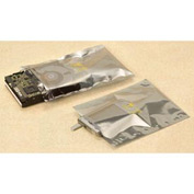 Static Shielding  Layflat Bags, 14X18, 100 per Case, Transparent Metallic