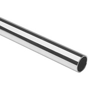 """Lavi Industries, Tube, 1.5"""" x .050"""" x 8', Polished Stainless Steel"""