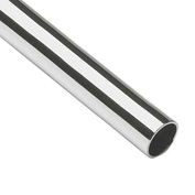 """Lavi Industries, Tube, 2"""" x .050"""" x 6', Polished Stainless Steel"""