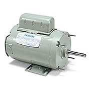 Leeson Motors - 1/3HP, 115/208-230V, 1750RPM, TENV, Rigid Mount, 1.0 S.F.