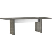Mayline® Medina 8' Conference Table Gray Steel