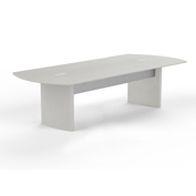 Mayline® Medina 8' Conference Table Textured Sea Salt