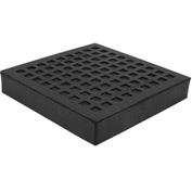 "Natural Rubber Load Bearing Pad - 10""L x 10""W x 1""H"