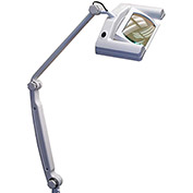 SMD LED Magnifying Task Lamp, White, 3-Diopter