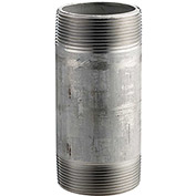 2 In. X 5-1/2 In. 304 Stainless Steel Pipe Nipple - 16168 PSI - Sch. 40 - Domestic