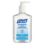 Purell Hand Sanitizer with Pump 8 ounce - Pkg. Qty. 12