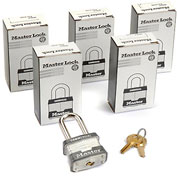 Master Lock® General Security Laminated Padlocks - No. 3kalf - Pkg Qty 6
