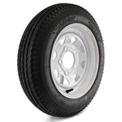 Martin Wheel Kenda Loadstar Trailer Tire and 5-Hole Custom Spoke Wheel DM412C-5C-I - 480-12 - LRC