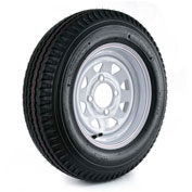 Martin Wheel Kenda Loadstar Trailer Tire and 4-Hole Custom Spoke Wheel (4/4) DM452C-4C-I - 530-12