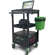EcoCart 380 Entry Level Mobile Cart with Integrated Power System