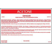 HazMat Container Labels - Alcohol Solution