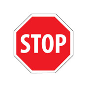 Security Stop Sign - Stop