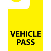 Parking Permit - Vehicle Pass