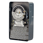 TORK® 1103B Mechanical Time Switch, 24-Hour, DPST, NEMA 1, 40A, 120 Volt