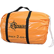 """Novatek Duct-2-Go 12"""" x 25' Heavy Duct Vinyl with integrated carrying case"""