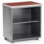 "OFM Utility/Fax/Copy Table - 28""W x 20""D - Cherry - Mesa Series"