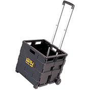 Olympia Tools Pack-N-Roll® Grand Rolling Folding Crate Cart 85-010 - 80 Lb. Capacity
