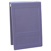 Omnimed® 1 Molded Ring Binder - Top Open, Lilac