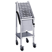 Omnimed® Wheeled Chart Carrier, 10-Unit Capacity