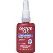 Loctite® 1329467 243™ Primerless Oil Tolerant Med Strength Blue Threadlocker 50ml