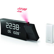 Atomic Projection Clock Radio (AM/FM) with Indoor/Outdoor Temperature