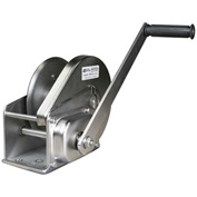 OZ Lifting OZ1500BWSS Stainless Steel Hand Winch with Brake 1500 Lb. Capacity