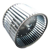 """Double Inlet Direct Drive and Blower Wheel - 1/2"""" Bore 9-1/2"""" Dia 9-1/2"""" W"""