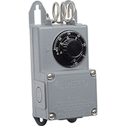 PECO Industrial NEMA 4X Thermostat, -30°-100° Temperature Range, Stainless Steel Coil